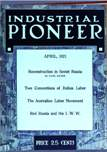 Industrial Pioneer, April 1921