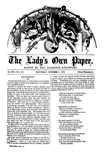 The Lady's own Paper, October 5, 1872