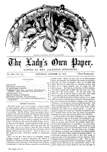 The Lady's own Paper, October 19, 1872