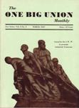 One Big Union Monthly, March 1937