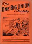 One Big Union Monthly, September 1937