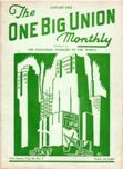 One Big Union Monthly, January 1938
