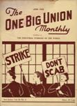 One Big Union Monthly, April 1938