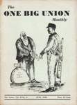 One Big Union Monthly, June 1938