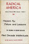 Radical America, January 1968