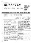 S.D.S. Bulletin, November 1964