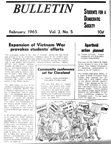 S.D.S. Bulletin, February 1965