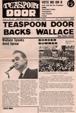 Teaspoon Door, October 25, 1968