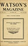 Watson's Magazine, October 1915