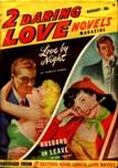 2 Daring Love Novels Magazine, August 1948