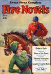 Five-Novels Magazine, March 1934