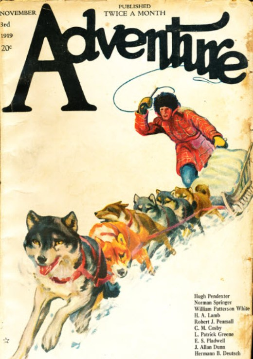 Image - Adventure, First-November, 1919