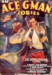 Ace G-Man Stories, January 1939