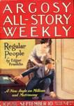 Argosy, September 10, 1921