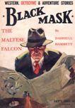 The Black Mask, September 1929