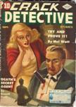 Crack Detective Stories, September 1944