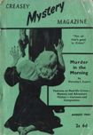 Creasey Mystery Magazine, August 1960