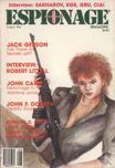Espionage Magazine, August 1986