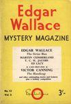 Edgar Wallace Mystery Magazine, August 1965