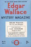 Edgar Wallace Mystery Magazine, September 1965