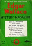 Edgar Wallace Mystery Magazine, March 1966