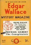Edgar Wallace Mystery Magazine, August 1966