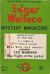 Edgar Wallace Mystery Magazine, November 1966