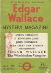 Edgar Wallace Mystery Magazine, April 1967