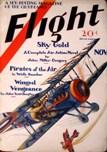 Flight Stories Magazine, November 1929