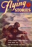 Flying Stories, January 1929