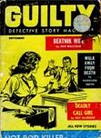 Guilty Detective stories, September 1961