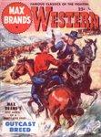 Max Brand'a Western Magazine, August 1950
