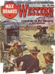 Max Brand'a Western Magazine, March 1952