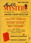 MacKill's Mystery Magazine, September 1952