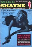 MMike Shayne Mystery Magazine – UK Edition, August 1957