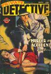 Private Detective Stories, November 1943