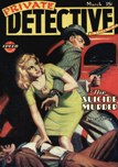 Private Detective Stories, March 1945