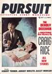 Pursuit Detective Story Magazine, November 1956