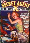 Secret Agent X, March 1936