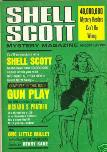 Shell Scott Mystery Magazine, August 1966