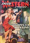 Speed Western Stories, September 1945