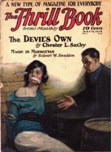 The Thrill Book, May 15, 1919