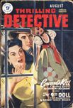 Thrilling Detective Stories, UK edition, August 1950