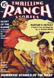 Thrilling Ranch Stories, August 1936