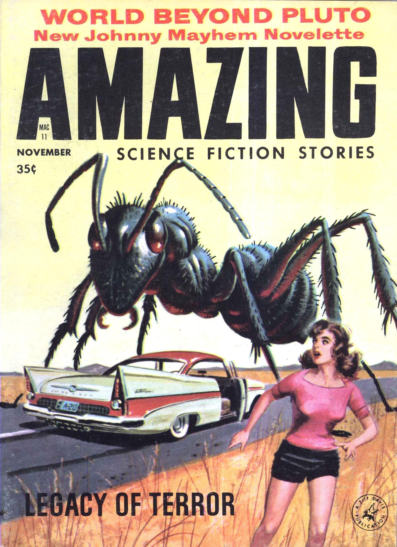 Amazing Stories, November 1958