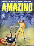 Amazing Stories, August 1960