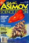 Isaac Asimov's Science Fiction Magazine, July 1989