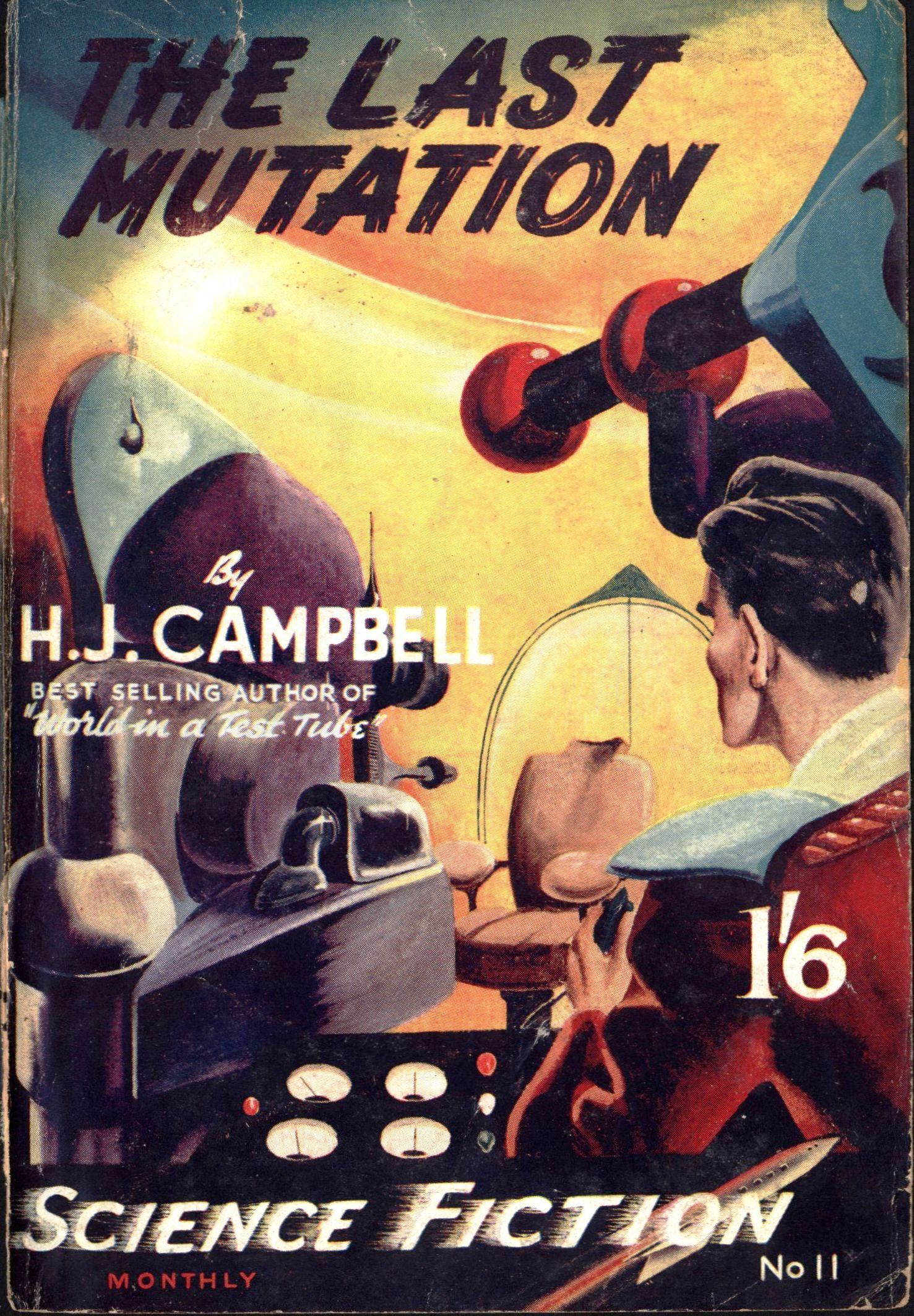 Authentic Science Fiction, July 1951