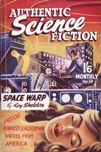 Authentic Science Fiction, March 1952