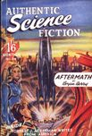 Authentic Science Fiction, August 1952